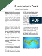 Transmisión de Energía Eléctrica en Panamá