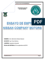 nissan company.docx