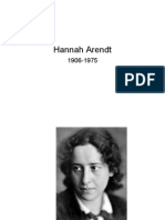 Hannah Arendt Decline of Human Rights