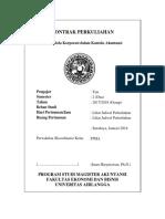 MAKSI - Kontrak Perkuliahan - Tata Kelola Korporasi Dalam Konteks Akuntansi