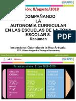 Resumen Autonomía Curricular ZE8 ULISES AVH
