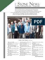November 2009 Stone Newsletter, Stone Church of Willow Glen