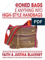 Cargo Carryall Project from Refashioned Bags by Faith Blakeney and Justina Blakeney