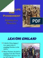 puritan crime and punishmen