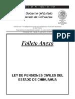 Nueva Ley de Pensiones Civiles del Estado de Chihuahua