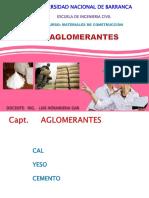 AGLOMERANTES Yeso Cal y Cemento
