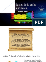 Antecedentes de La Tabla Periodica Bioinorganica