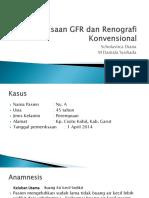 Pemeriksaan GFR + Renografi diana syuhada