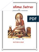 1. Brahma Sutras - Introduction