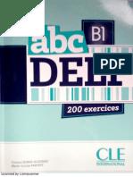 delf B1 abc