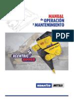 Manual de Mantenimiento & Funcionamiento-KOMATSU XCENTRIC RIPPER