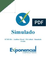 Simulado Pre Edital - 01