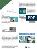 Drenaje Tubular y Penrose
