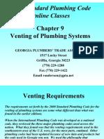 Plumb Ling Venting