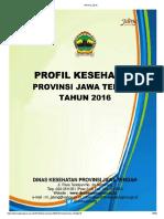 Profil Kesehatan Jateng 2016