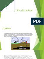 Produccion de Metano