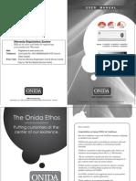 Onida AC Manual