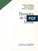 Elementos de la lógica formal