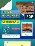 Factor Volumetrico Aceite Bajosaturado