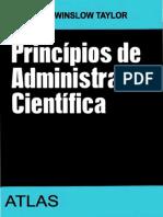 Principios de Administracao Cientifica