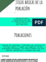 Caracteristicas Basicas de La Poblacion