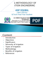 Irrigation Engineering by Asif Equbal