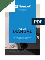 NasaJet mobile inkjet printer manual