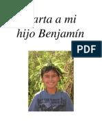 Carta a mi hijo Benjamín