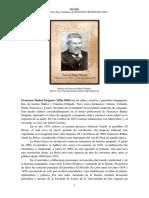 Francisco Ibanez Delgado 1826 1899 Semblanza