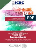 PECDA Baja California 2018