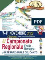 32° CAMPIONATO REGIONALE Emilia Romagna