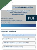 Aluminium Market Outlook Quebec 2017