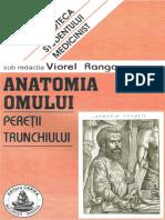 327895233 Viorel Ranga Anatomia Omului 1 Pereții Trunchiului