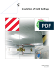 Paroc Insulation of Cold Ceilings INT