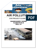 Air Pollution EVS