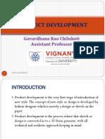 Product Development Garments