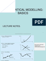 Basics of Mathematical Modellling