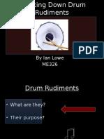 260146540 Drum Rudiments