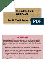 KEPEMIMPINAN & MOTIVASI ('10)