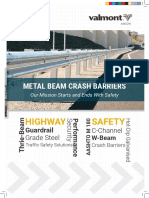 C-Post W-Beam and Thriebeam