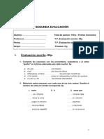 Modelo de Examen A1