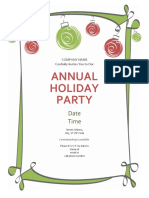 Annual Holiday