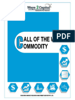 Commodity Research Report  04 September 2018 Ways2Capital