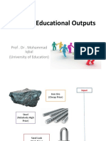 Educational Outputs