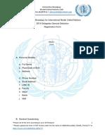 Universitas Brawijaya for International Model United Nations 2019