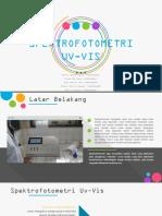 PPT-Spektrofotometri Uv-Vis Dan Kolorimetri