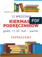 Plakat Książki