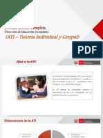 PPT Número 4 Tutoría Individual y Grupal
