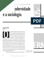 Pós-modernidade e a Sociologia