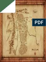 Adventurer s Map - One Ring